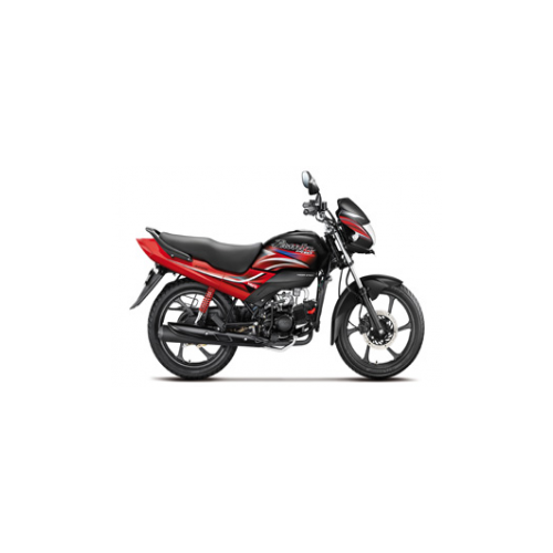 Hero Passion Pro Colour Black With Sports Red