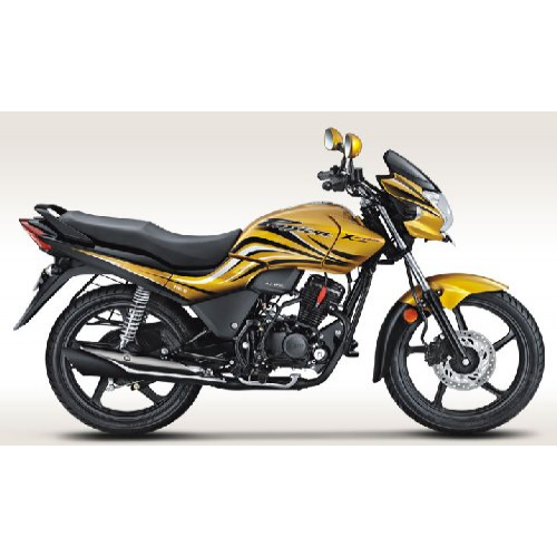 Hero Passion Xpro Colour Electric Yellow Metallic