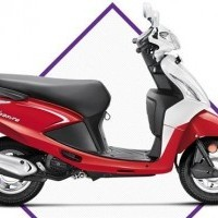 Hero Pleasure 100 Colour Playful Red And White