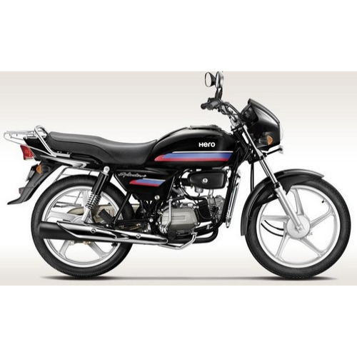 Hero Splendor Plus 100 Colour Black With Purple Red