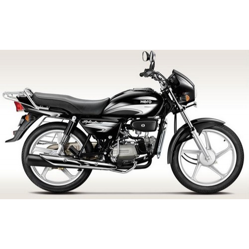 Hero Splendor Plus 100 Colour Black With Silver