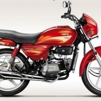 Hero Splendor Plus 100 Colour Candy Red