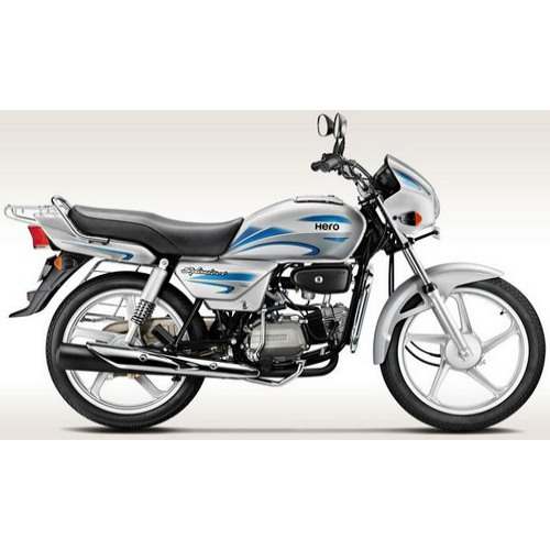 Hero Splendor Plus 100 Colour Cloud Silver