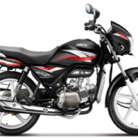 Hero Splendor Pro Color Black With Red