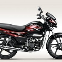Hero Super Splendor 125 Colour Black With Fiery Red