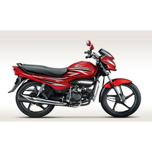 Hero Super Splendor 125 Colour Candy Blazing Red