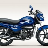 Hero Super Splendor 125 Colour Vibrant Blue