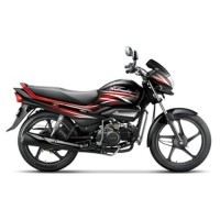 Super Splendor Ismart Colour Black With Fiery Red