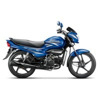 Super Splendor Ismart Colour Vibrant Blue