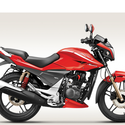 Hero Xtreme Sports Color Fiery Red