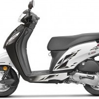 Honda Activa I Color 2017 Black White