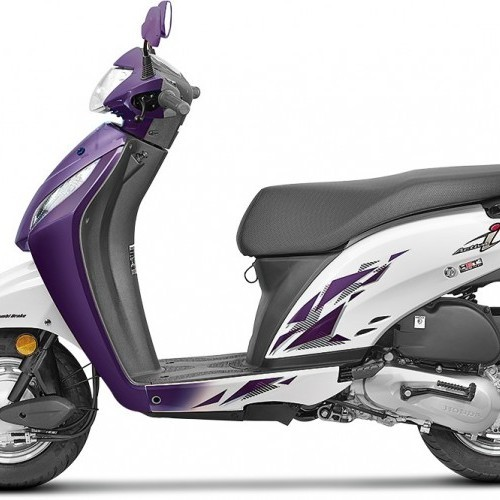 Honda Activa I Color 2017 Blue White