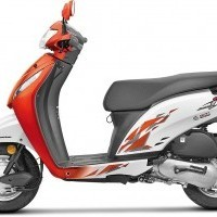 Honda Activa I Color 2017 Orange White