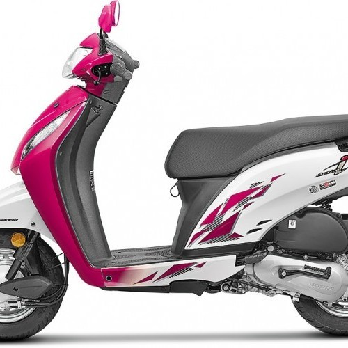 Honda Activa I Color 2017 Purple White