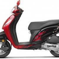 Honda Activa I Color 2017 Red Black