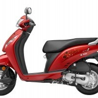Honda Activa I Color Imperial Red Metallic