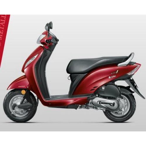 Honda Activa I Colour Alpha Red Metallic