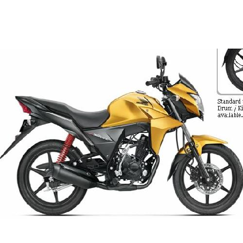 Honda Cb Twister Colour Electric Yellow Metallic
