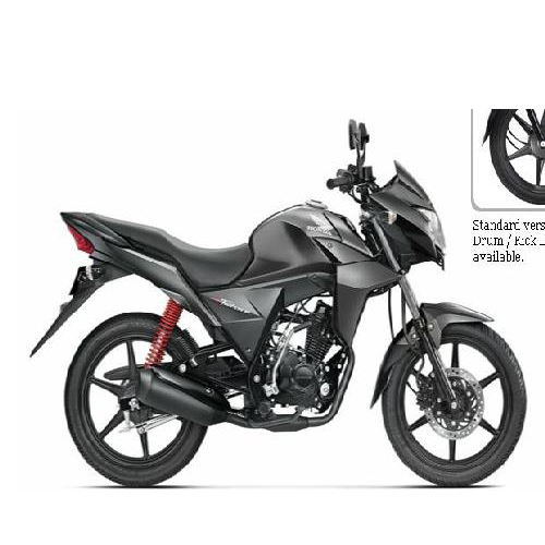 Honda Cb Twister Colour Heavy Grey Metallic