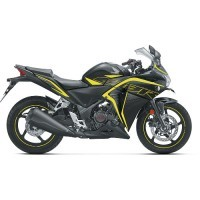2018 Cbr250r Matte Axis Gray Metallic With Striking Green Color