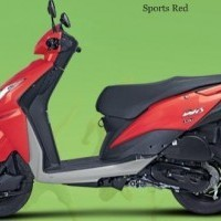 Honda Dio 100cc Colour Red