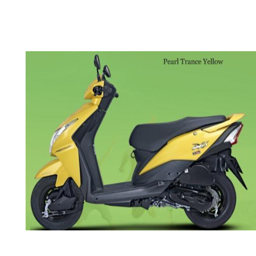 Honda Dio 100cc Colour Yellow
