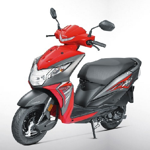 Honda Dio Sports Red Color