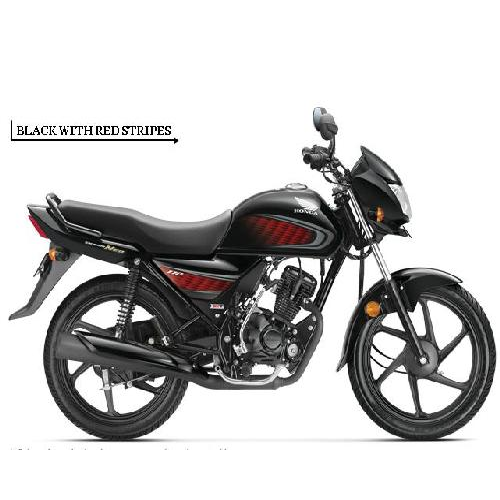 Honda Dream Neo Colour Black With Red Stripes