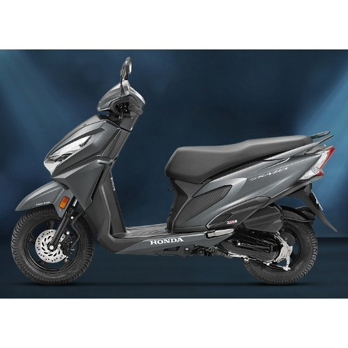 Honda Grazia Matte Axis Grey Metallic Color