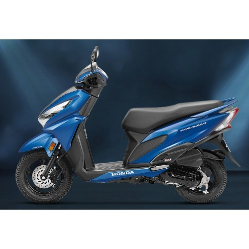 Honda Grazia Matte Marvel Blue Metallic Color