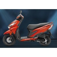Honda Grazia Neo Orange Metallic Color