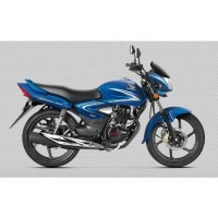 Honda Cb Shine 2017 Colour Athletic Blue Metallic