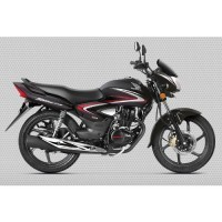 Honda Cb Shine 2017 Colour Black