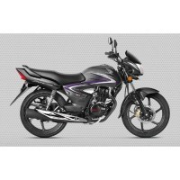 Honda Cb Shine 2017 Colour Geny Grey Metallic