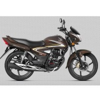 Honda Cb Shine 2017 Colour Mapple Brown Metallic