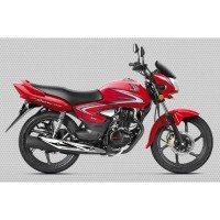 Honda Cb Shine 2017 Colour Sports Red