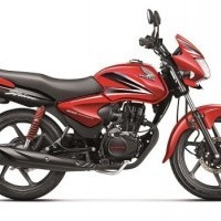 Honda Cb Shine Dual Tone Red And Black
