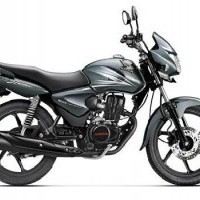 Honda Shine Colour Monsoon Grey Metallic