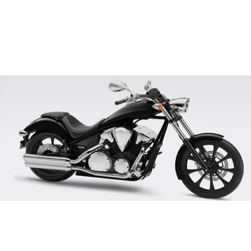 Honda Vt 1300cx Colour Black