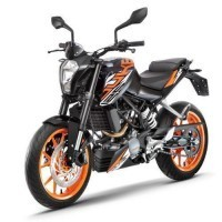 Duke 125 Abs Black