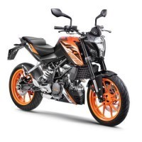 Duke 125 Abs Orange