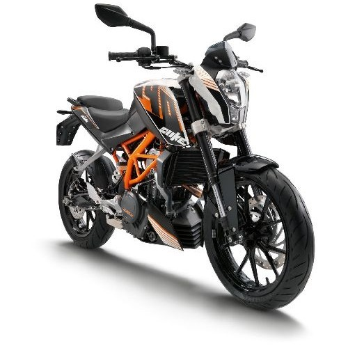 Ktm Duke 390 Colour Black With Orange