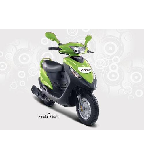 Mahindra Flyte Colour Electric Green