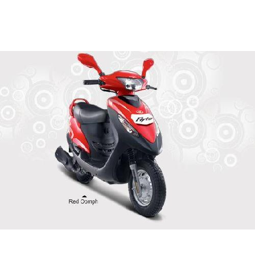 Mahindra Flyte Colour Red Oomph
