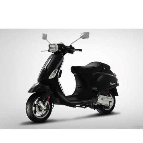 Piaggio Vespa Color Black
