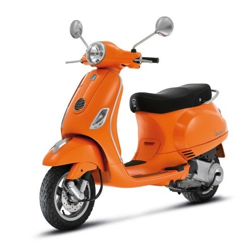 Piaggio Vespa Color Orange