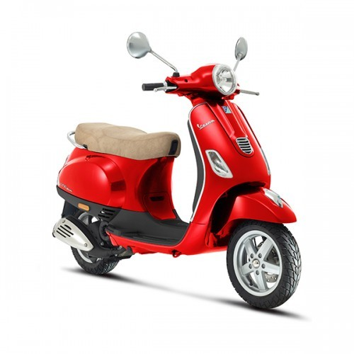 Piaggio Vespa Color Red