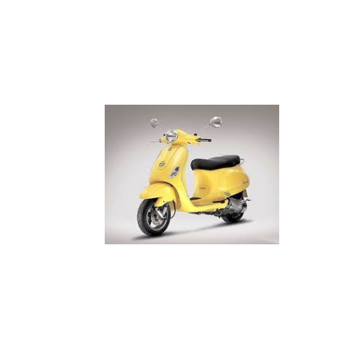 Piaggio Vespa Color Yellow