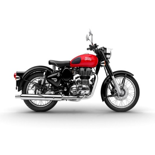Royal Enfield Bullet Classic Color Redditch Red