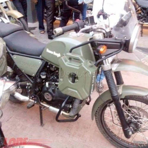 Royal Enfield Himalayan Army Green Colour